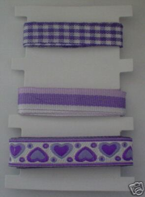 Baby Lilac Ribbons / Braids Set