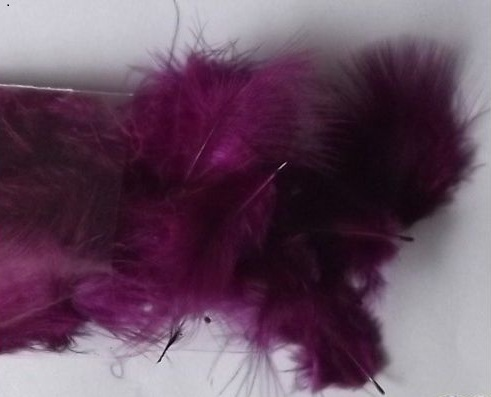Marabou Feathers-Purple-Small