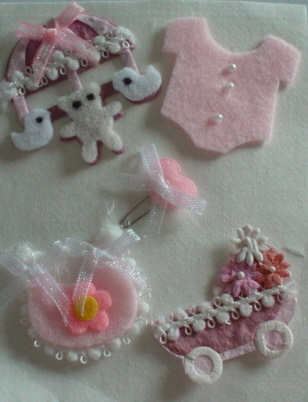 Baby Girl Embellishment Set
