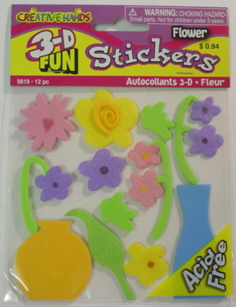 3d Foam Embellishments - Cut Flowers