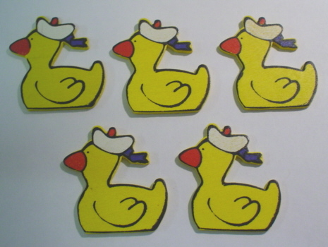 5 Yellow Ducks
