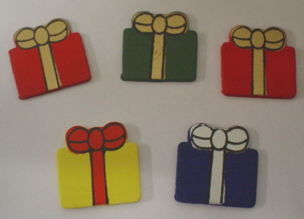 5 Colourful Presents