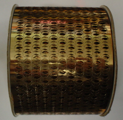 3 Yards Copper Sequined Waste