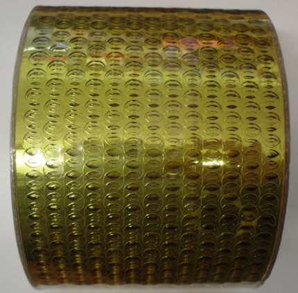 3 Yards Gold Sequined Waste