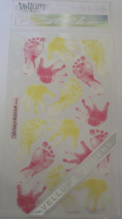 Vellum Baby Girl Hands And Feet