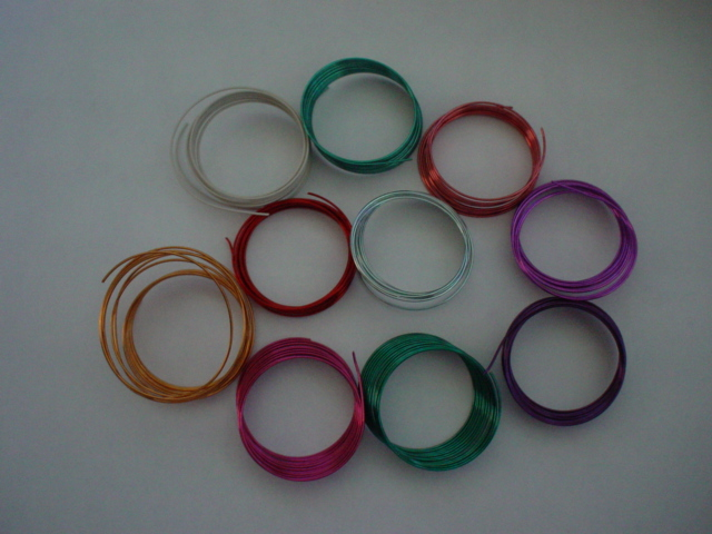 10 Metres Colourful Craft Wires