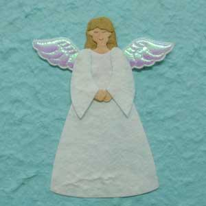 Pk 4 Christmas Angels die cuts for crafts