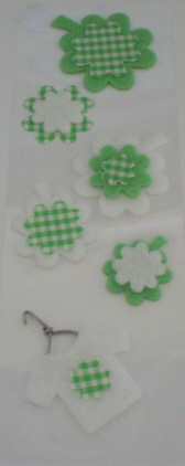 Fairy Land 3D Stickers -Baby Green