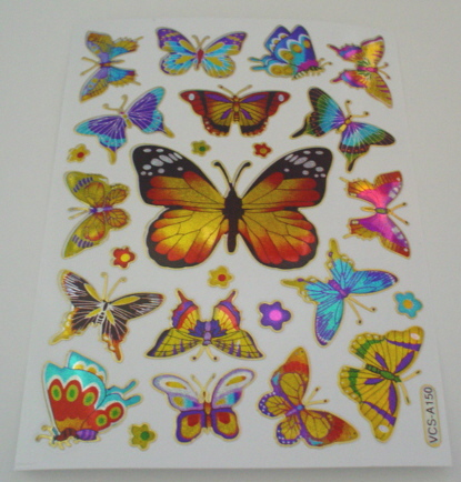Large Butterfly Stickers