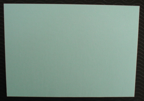 Pearlescent Cards and matching Envelopes Cool Mint pack of five