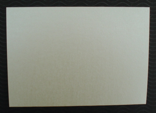 Pearlescent Cards and matching Envelopes Ivory pack of five
