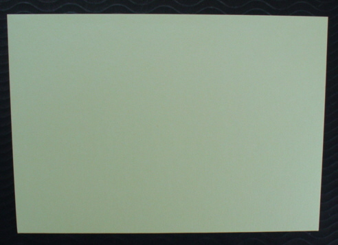 Pearlescent Cards and matching Envelopes Soft Lemon pack of five