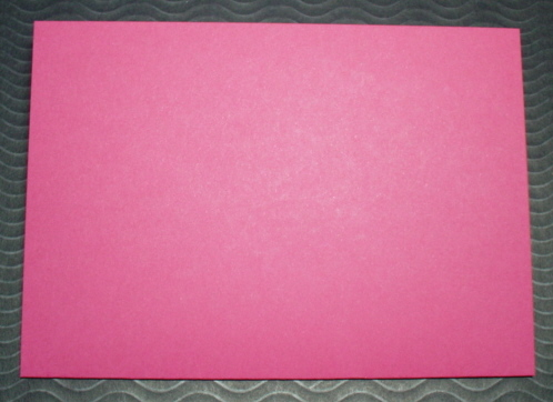 Raspberry cards with matching Envelopes A6 pack of five