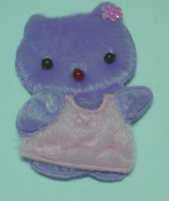Kitten - Lilac With Pink Dress. Pack of 5.