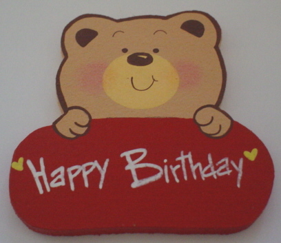 Teddy Happy Birthday
