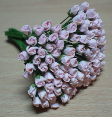 100 Roses Bud  - Pink