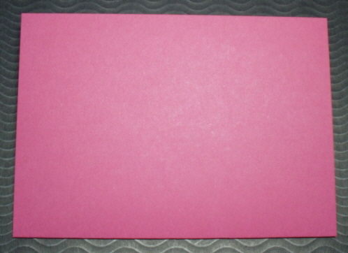 Raspberry cards with matching Envelopes Square pack of five