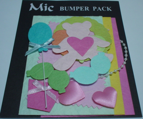 Topper Pack-Teddies and Balloons